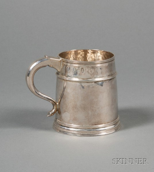 Queen Anne Silver Mug