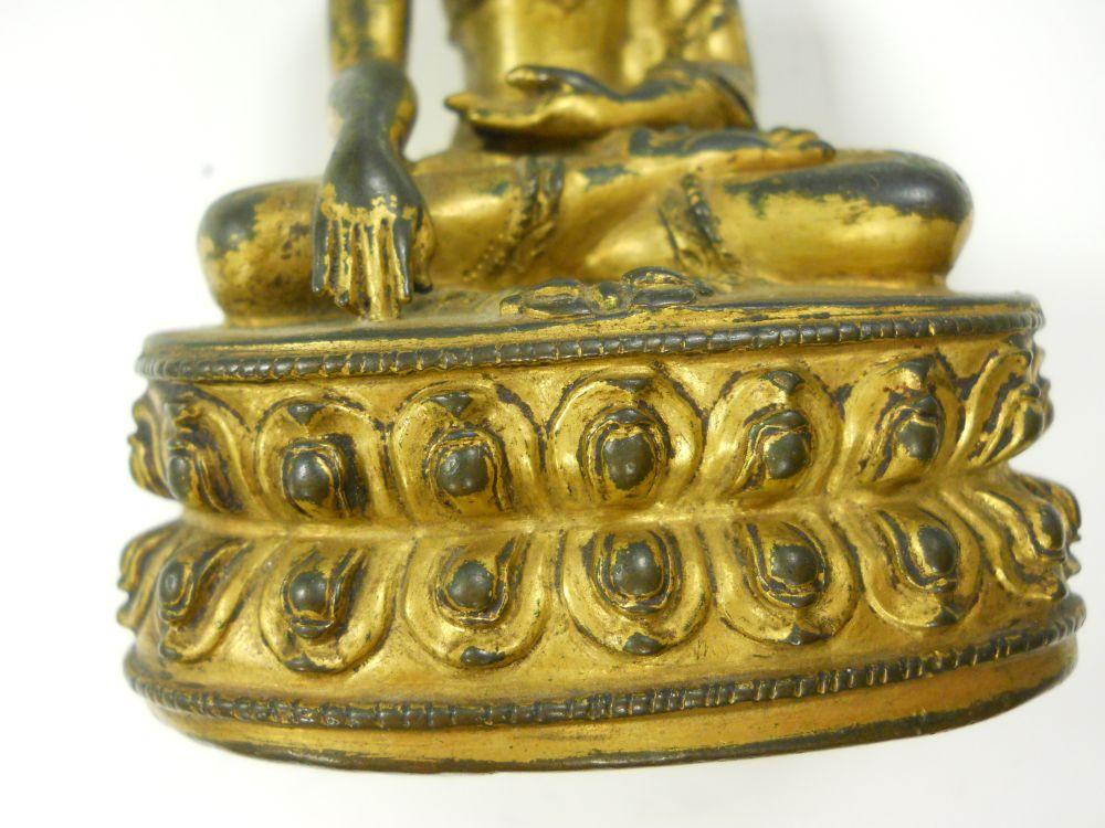 Gilt-bronze Figure of Buddha Akshobhya   Sale Number 2992B
