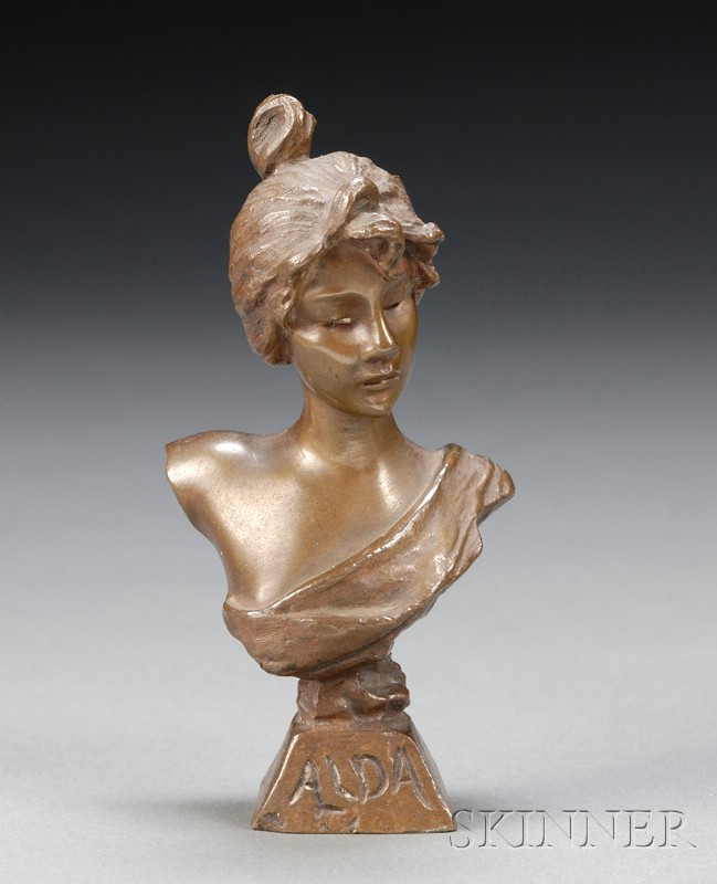 French Bronze Figure of