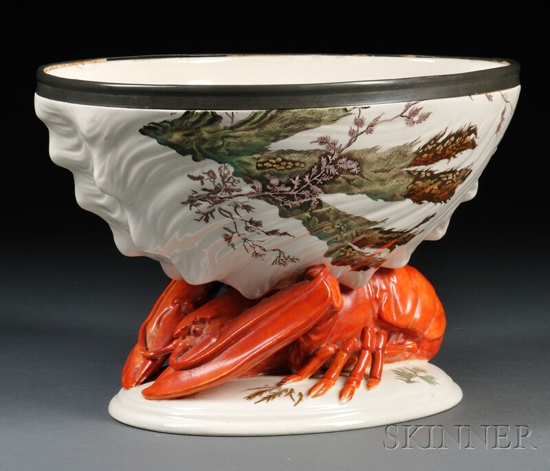 Wedgwood Queen's Ware Lobster Bowl