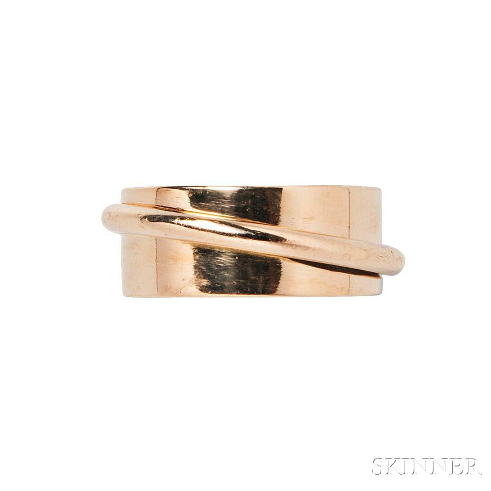 18kt Gold Ring, Dinh Van