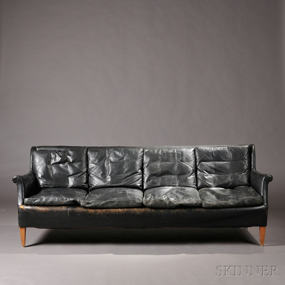 Early Scandinavian Design Sofa Sale Number 2692b Lot Number 356