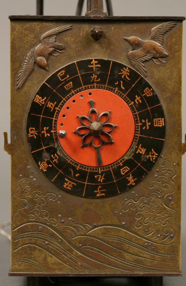 Japanese Double Foliot Dai Dokei Clock
