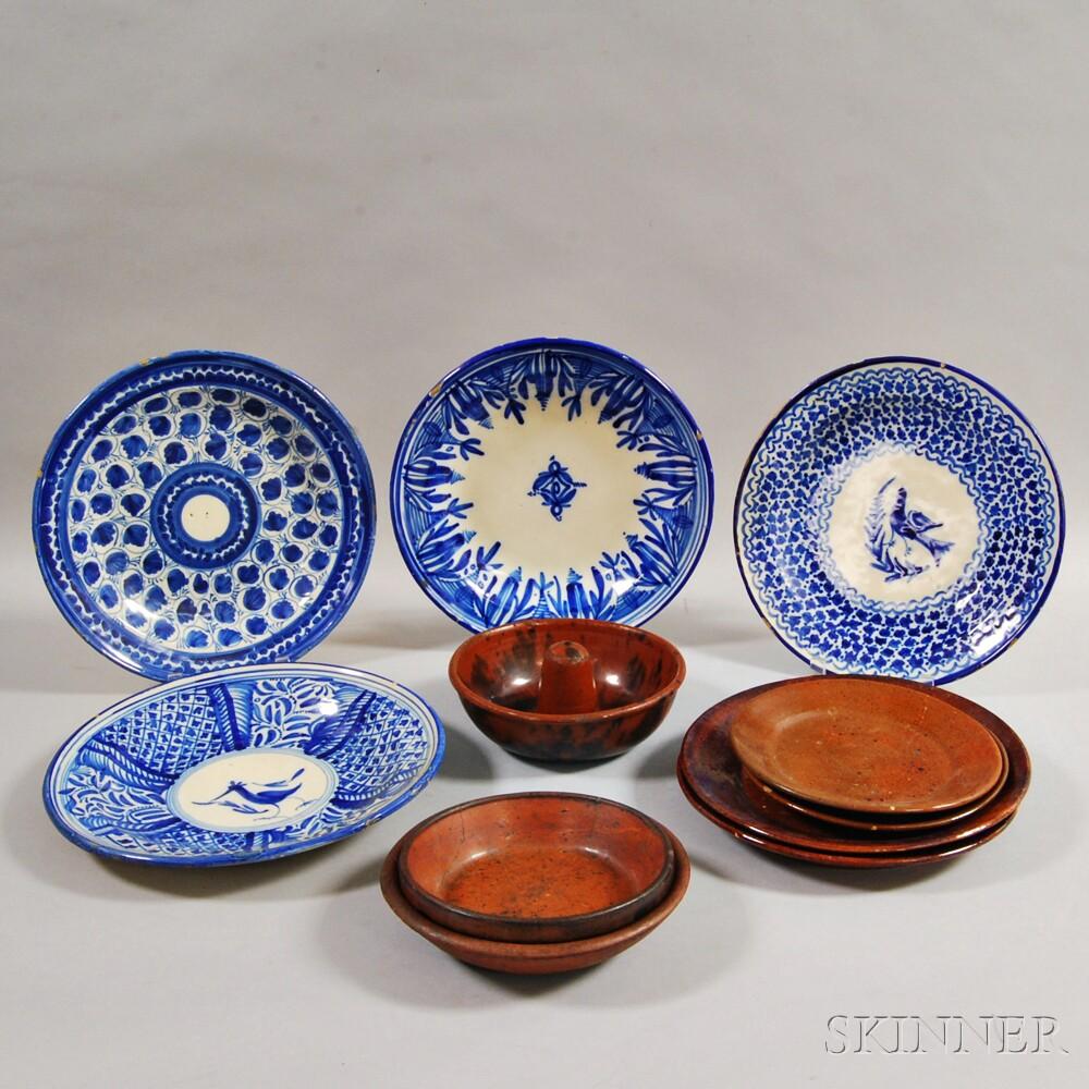 Eleven Ceramic Items