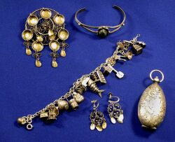 Group of Silver Jewelry Items