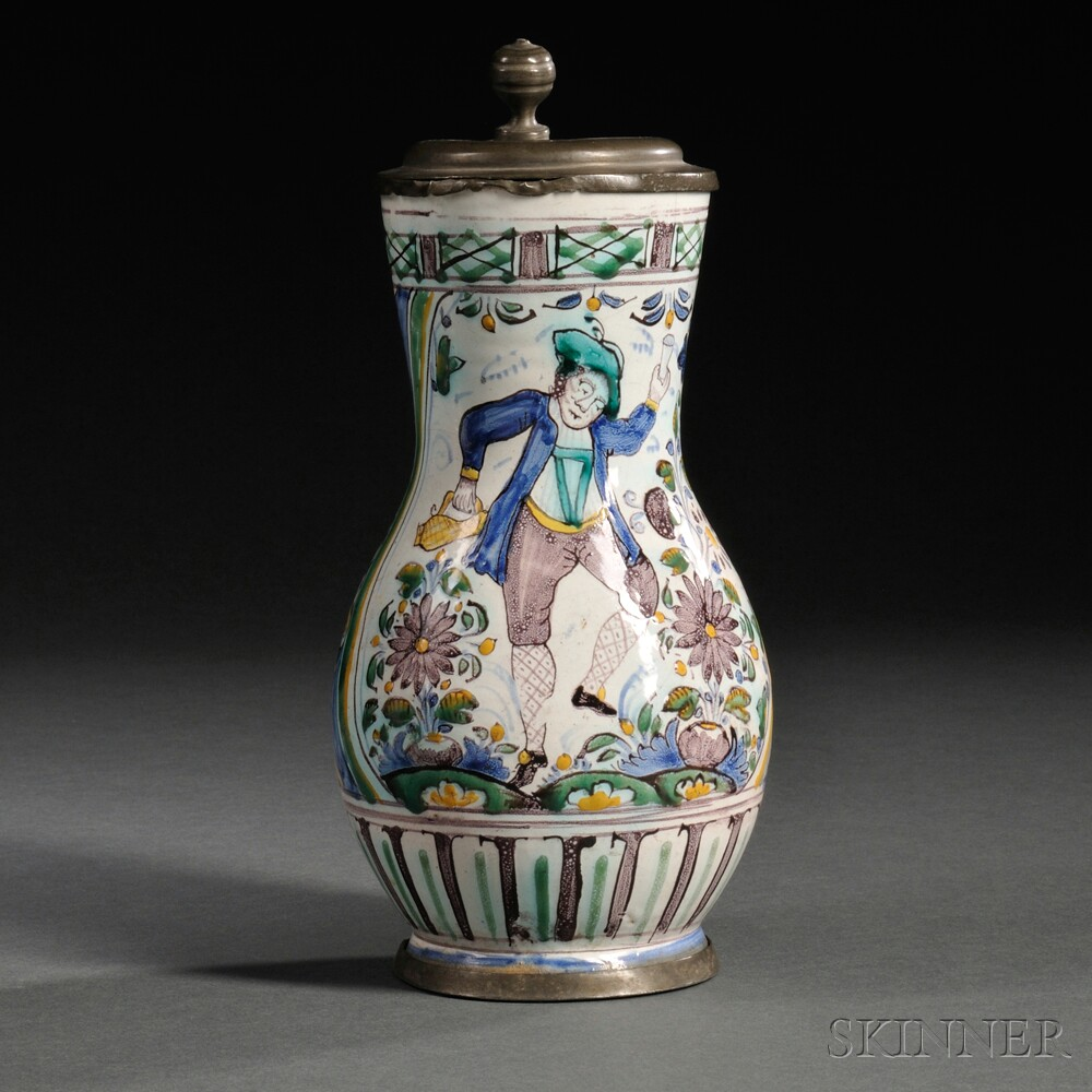German Faience Tankard