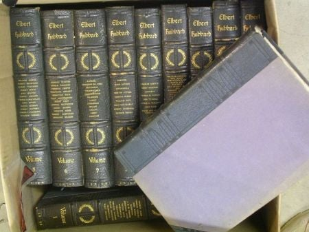 Partial Set of Eleven The Complete Writings of Elbert Hubbard