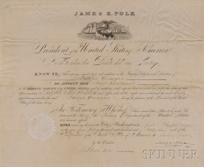Polk, James (1795-1849)