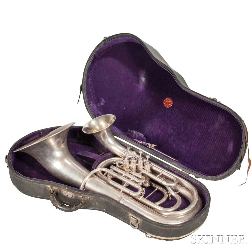 H.N. White King Double Bell Euphonium, c. 1930