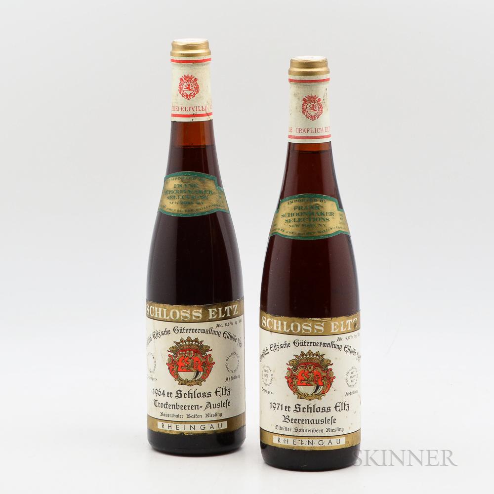 Schloss Eltz, 2 bottles