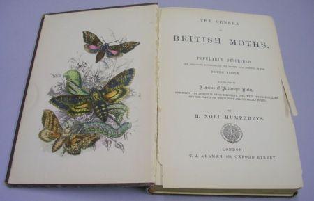 H. Noel Humphreys, The Genera of British Moths