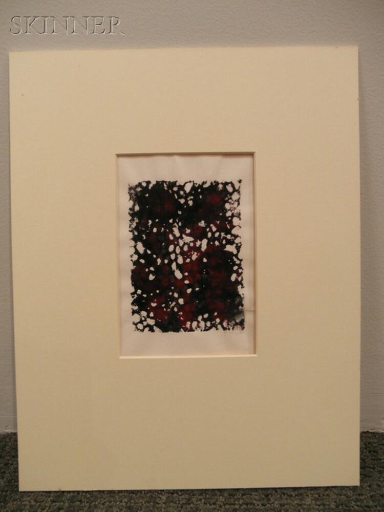 Mark Tobey (American, 1890-1976)      Untitled