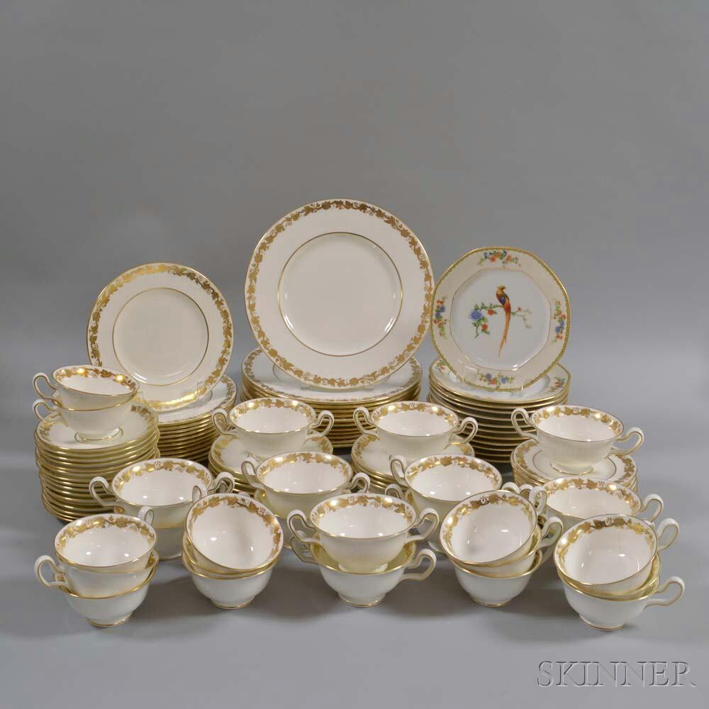 "Partial Wedgwood ""Whitehall"" Porcelain Dinner Service"