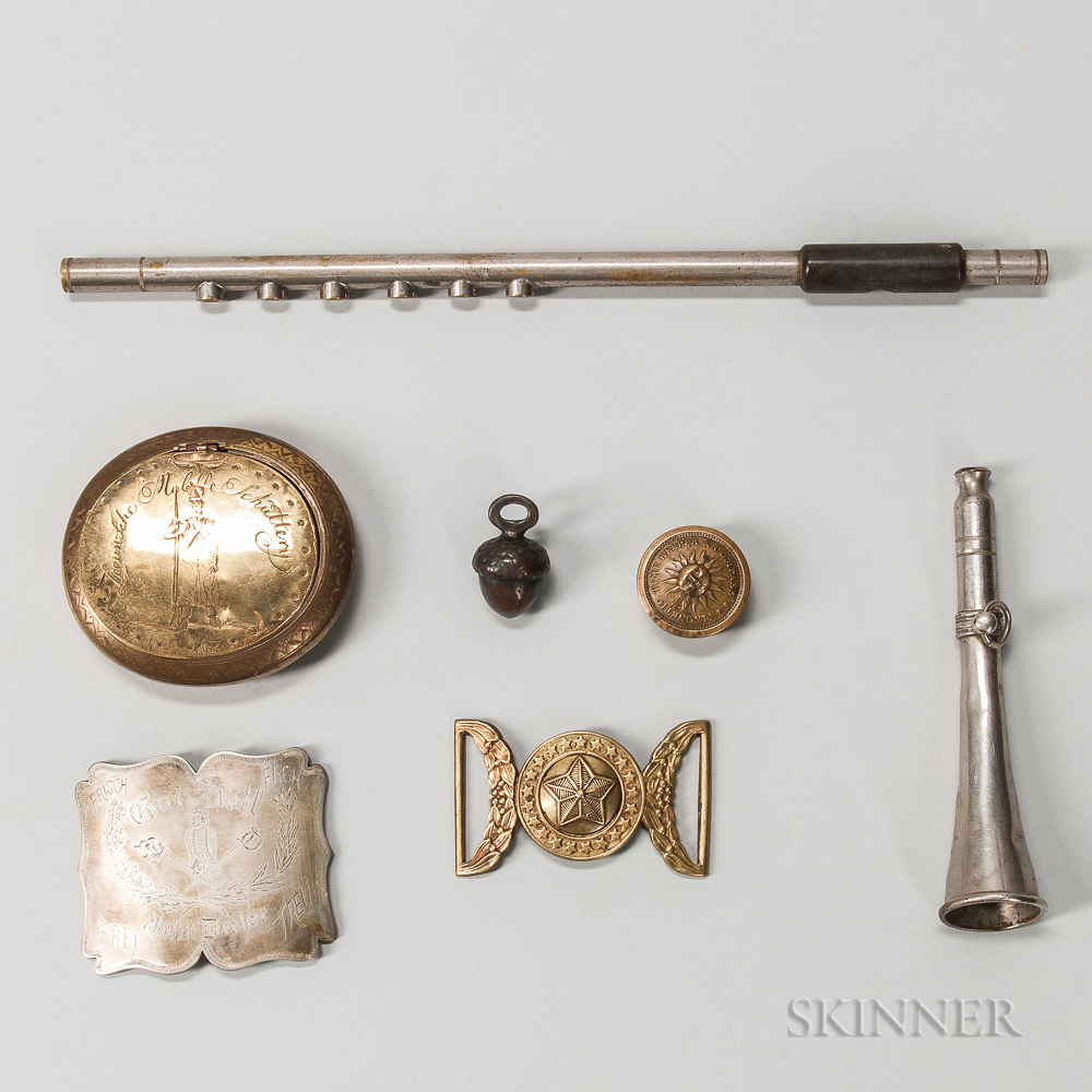 Group of Military Objects