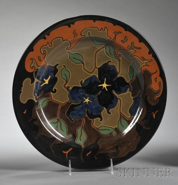 Gouda High Glaze Zenith Pottery Wall Charger