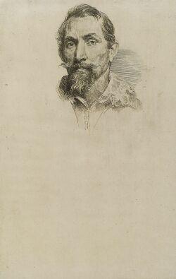 Sir Anthony Van Dyck (Flemish, 1599-1641)  Portrait of Frans Snyders