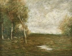 John Francis Murphy (American, 1853-1921)  The Glade in September