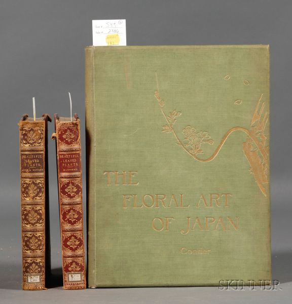 (Botany and Floral Art), Three Titles