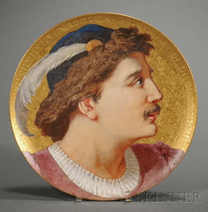 Wedgwood Romeo Circular Wall Plaque