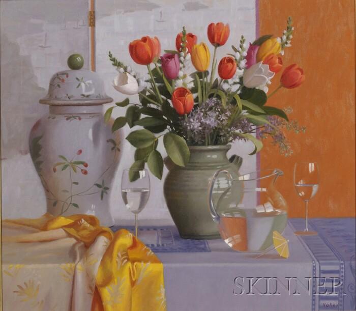 Sam Vokey  (American, b. 1963)      Tulips