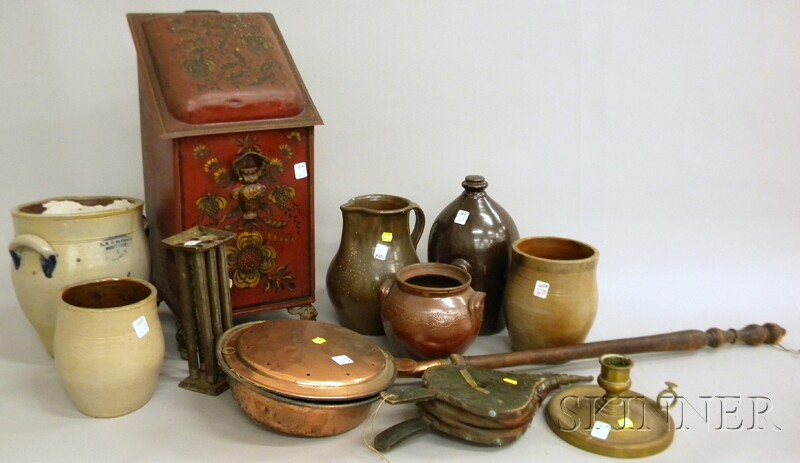 Eleven Assorted Country and Decorative Items