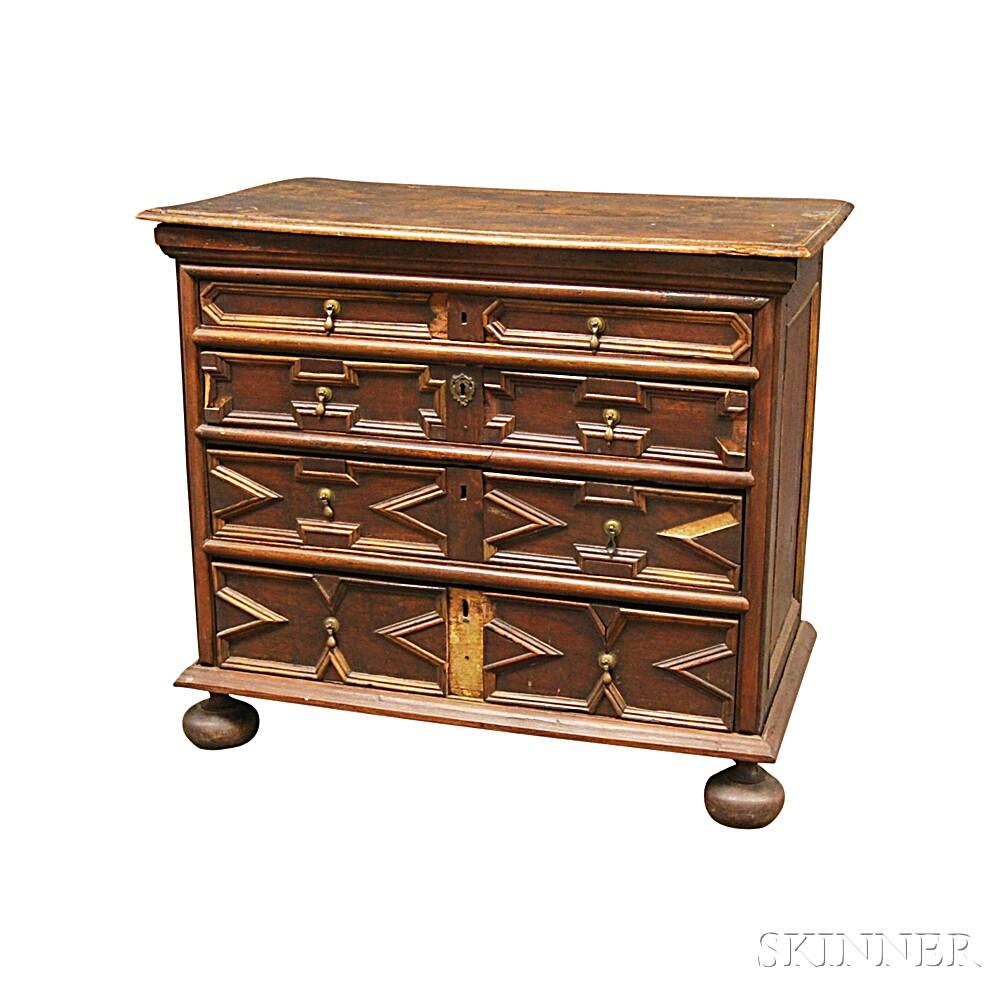 Jacobean Oak Chest of Drawers