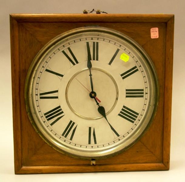 "Oak ""Slave"" Clock"