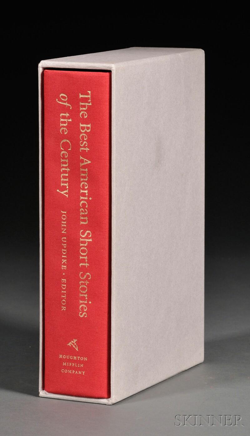 Updike, John (1932-2009) The Best American Short Stories of the Century