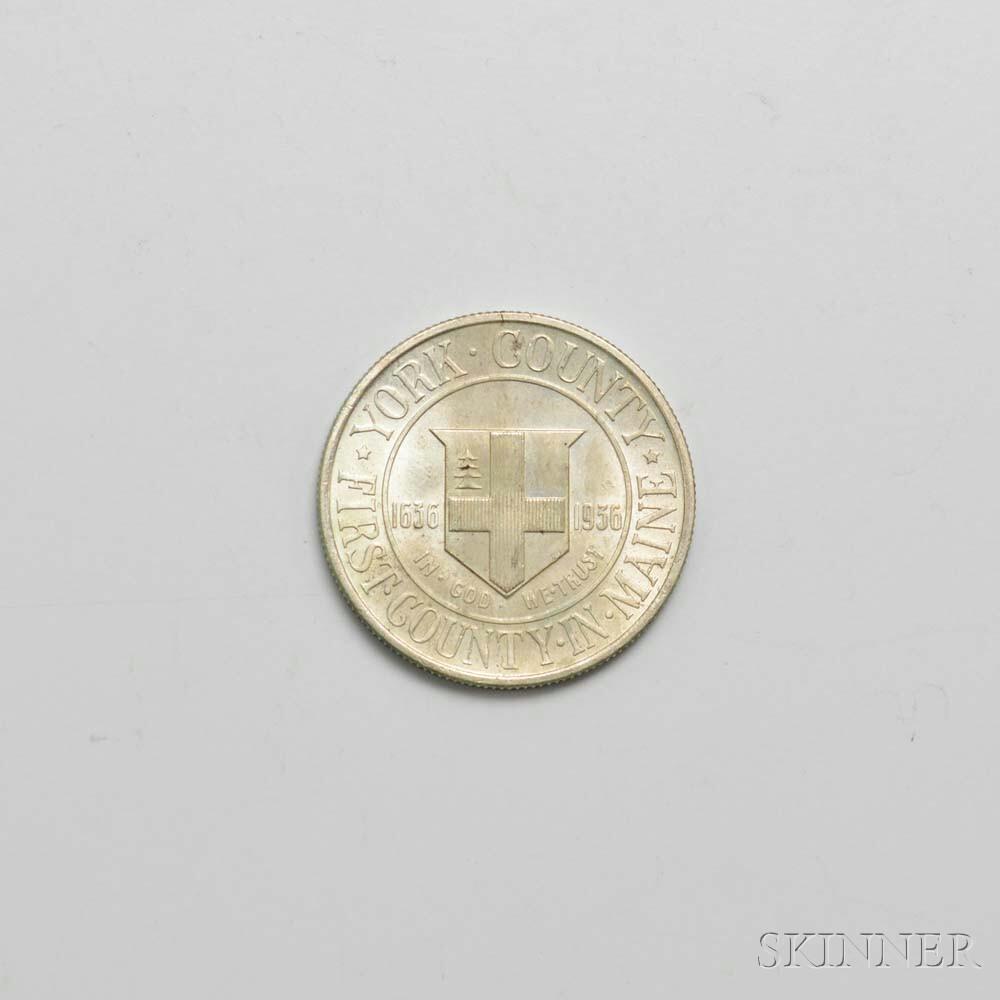 1936 York Commemorative Half Dollar