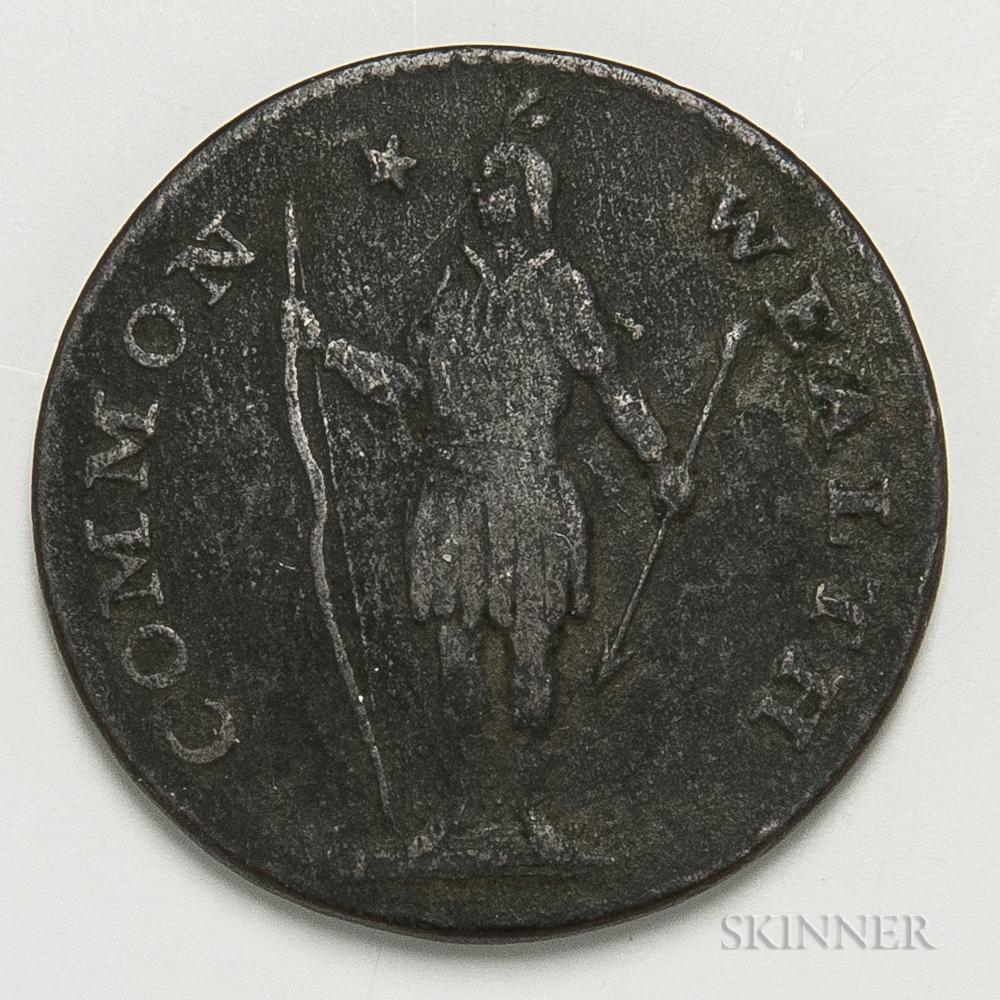 1788 Massachusetts Cent, Ryder 15-M.     Estimate $40-60