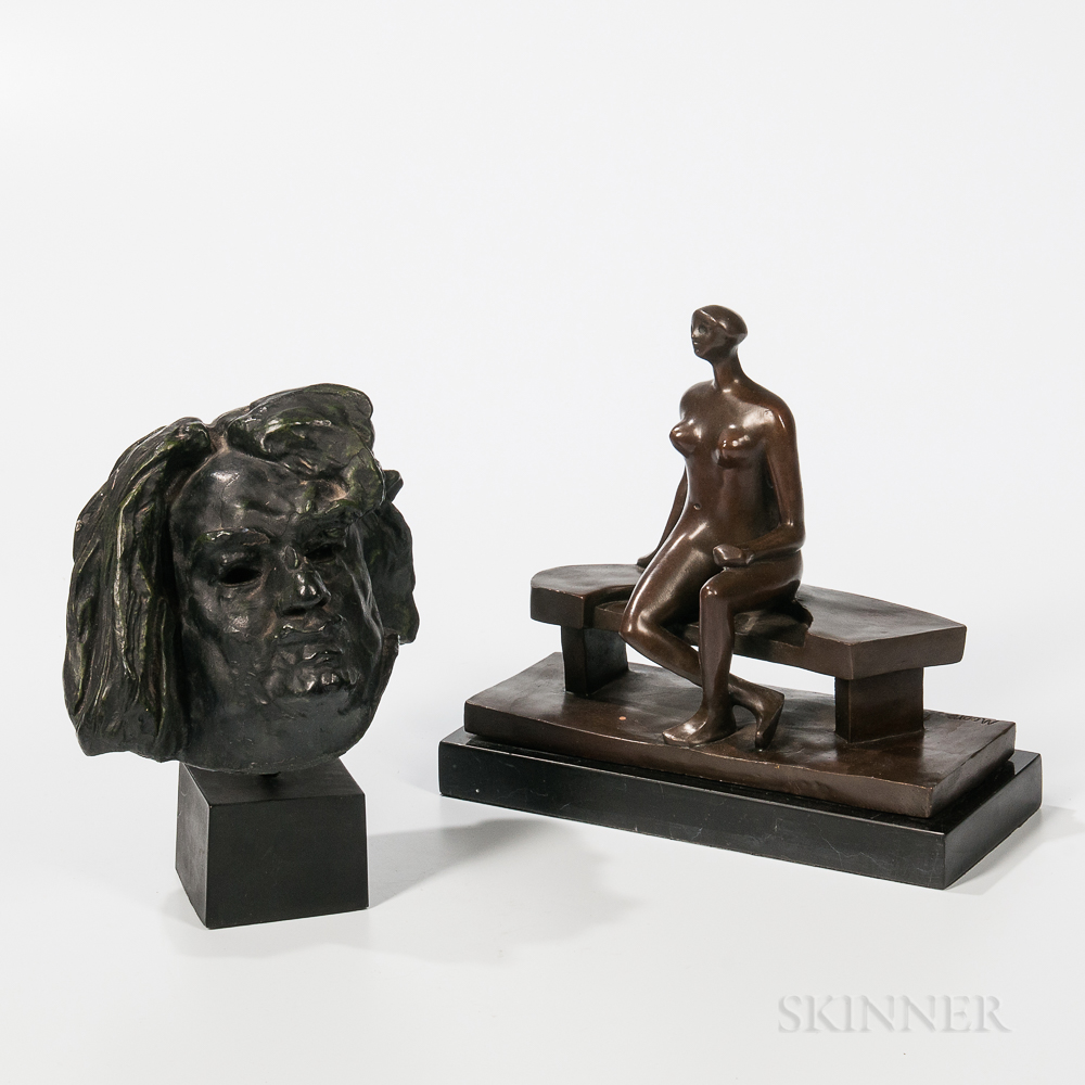 Two Sculpture Reproductions