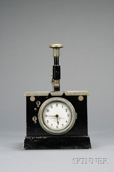Time Stamp Clock by the International Time Recording Company