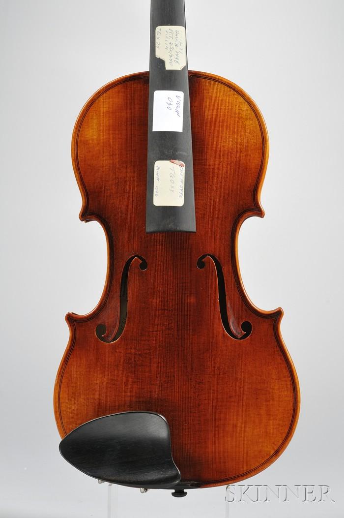 Modern Violin, Roman Teller, Erlangen, 1971