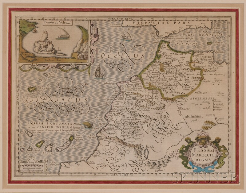 (Maps and Charts, Africa), Ortelius, Abraham (1527-98)
