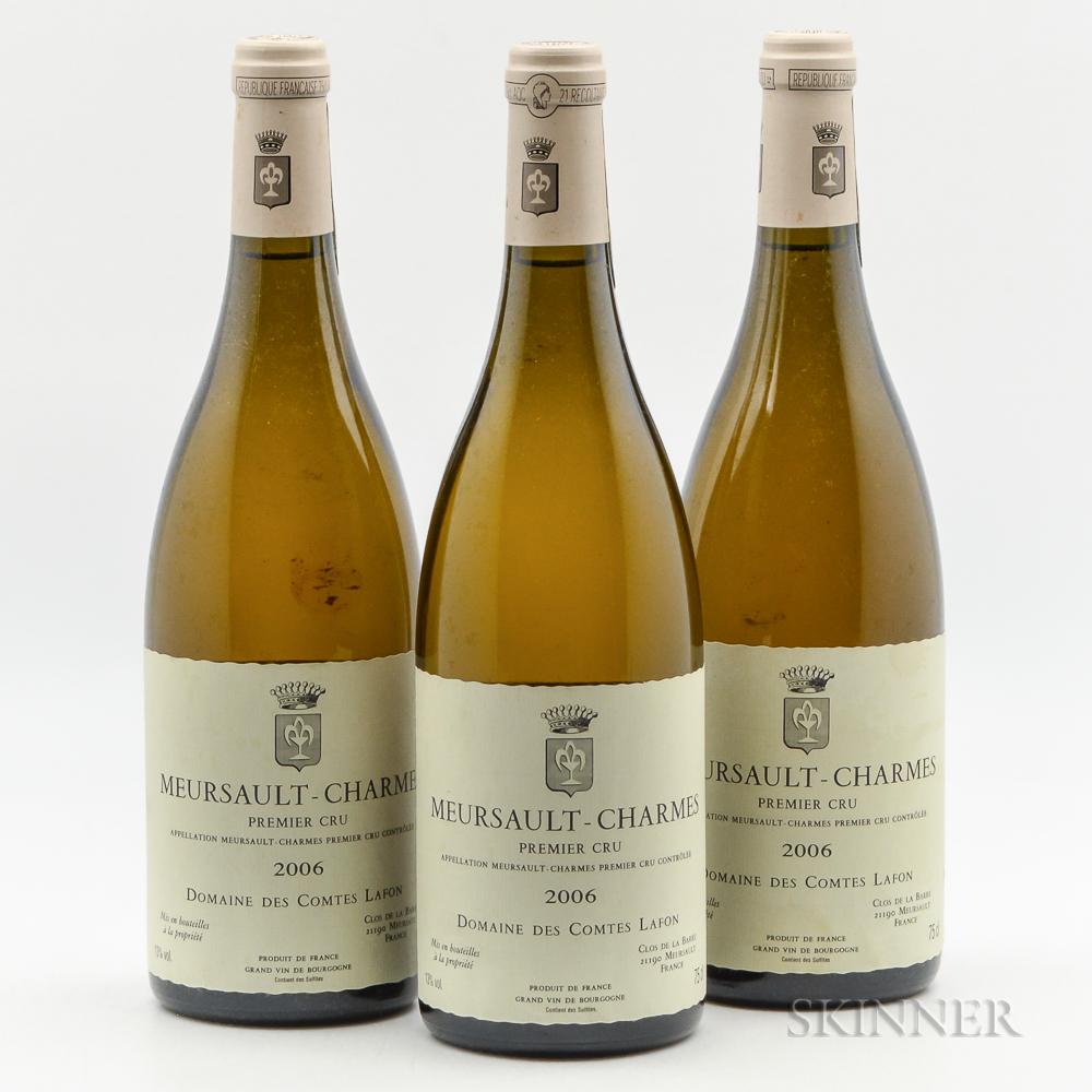 Comtes Lafon Meursault Charmes 2006, 3 bottles