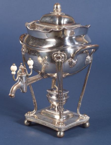 English Sheffield Plate Hot Water Urn