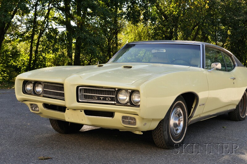 1969 Pontiac GTO Hardtop, VIN 242379G1O4254