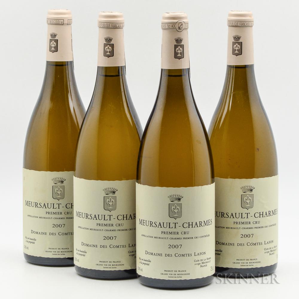 Comtes Lafon Meursault Charmes 2007, 4 bottles
