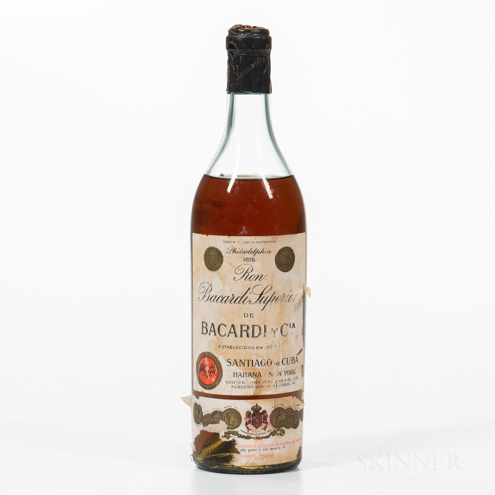 Bacardi Rum, 1 24oz bottle