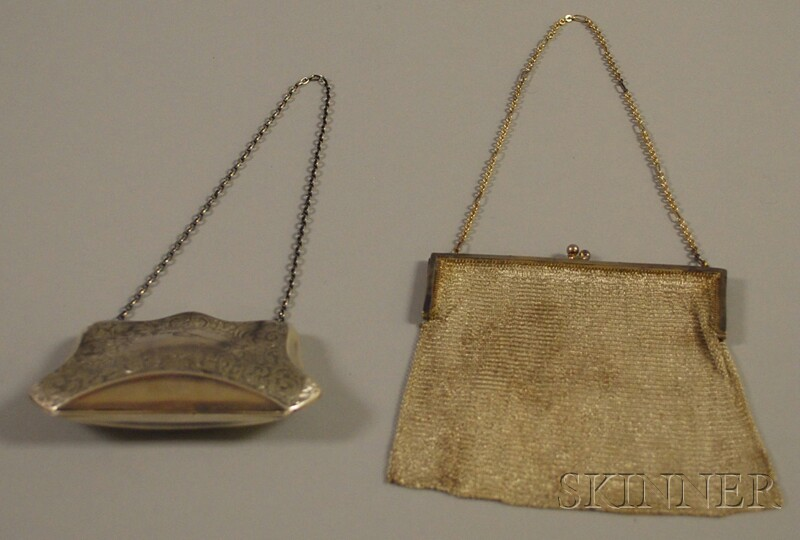 Two Silver Purses