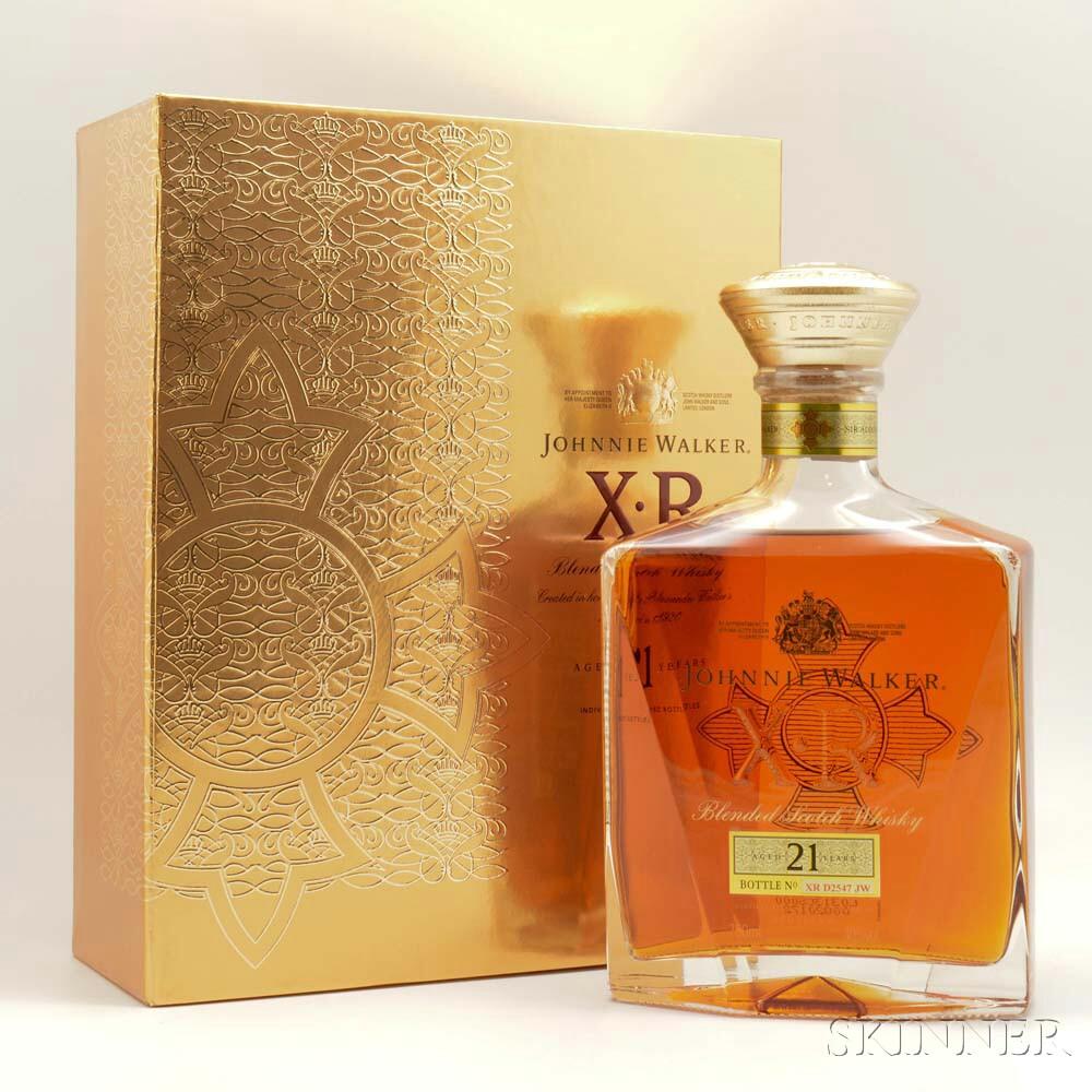 Johnnie Walker XR 21 Years Old, 1 750ml bottle (pc)