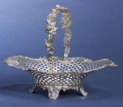 Tiffany & Co. Reticulated Sterling Basket