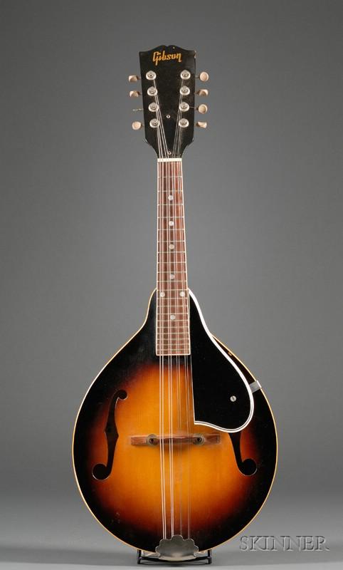 American Mandolin, Gibson Incorporated, Kalamazoo, c. 1950, Style A-40