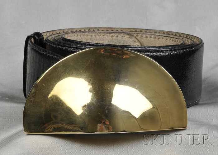 Leather Belt, Robert Lee Morris