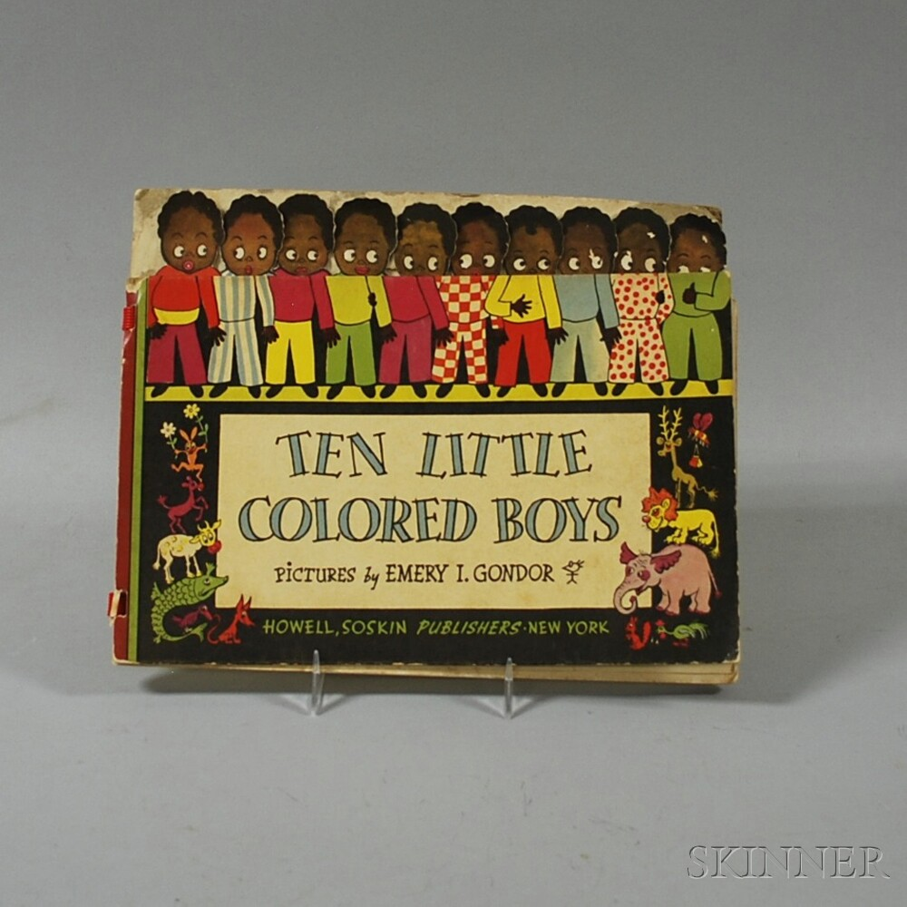 Ten Little Colored Boys Book