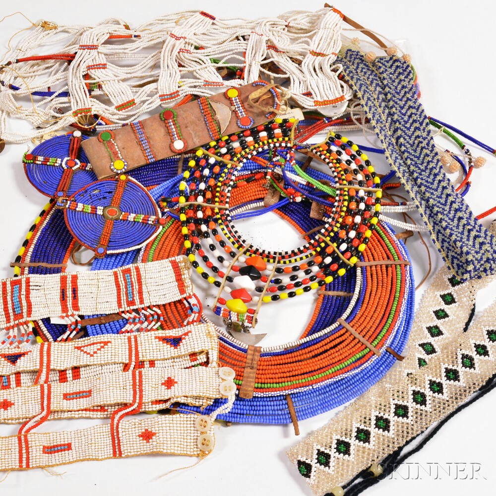 Group of African Beadwork
