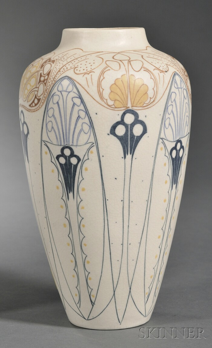 Arnhem Matte Glaze Pottery Vase