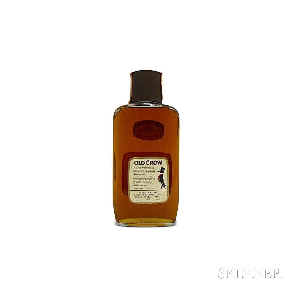 Old Crow Traveler Bourbon 6 Years Old, 1 750ml bottle