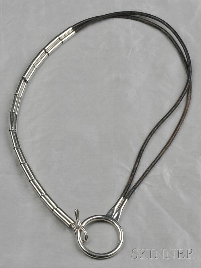 Leather Belt, Robert Lee Morris, c. 1980