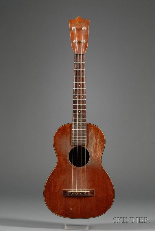 American Tenor Ukulele, C.F. Martin & Company, Nanzareth, c. 1936, Model 1-T